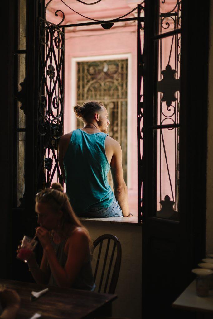 The view from el cafe in havana cuba