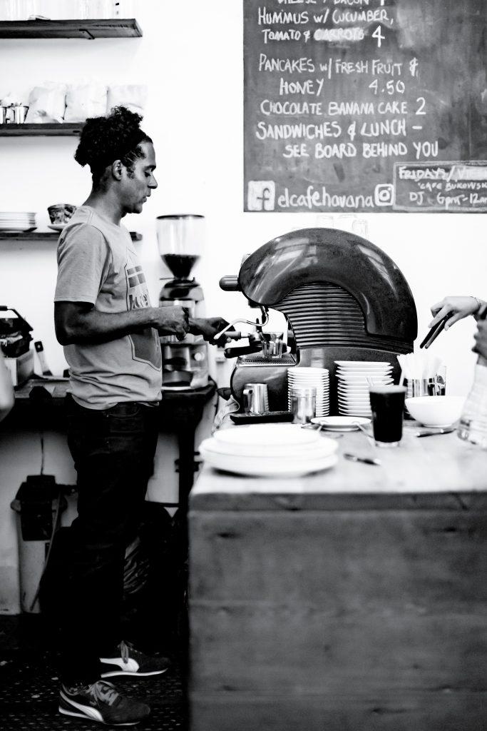 Nelson Rodríguez of El Cafe in Havana
