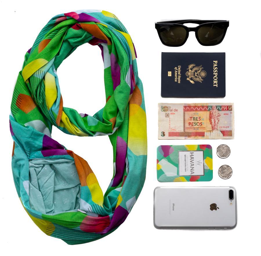 havana travel scarf