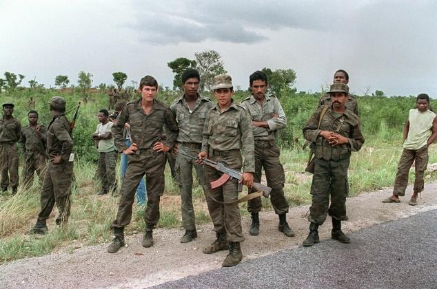 cuban troops