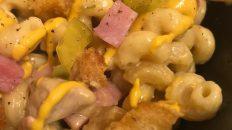 cuban sandwich mac and cheese
