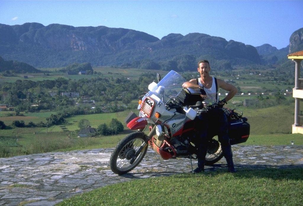 motorcycle through cuba