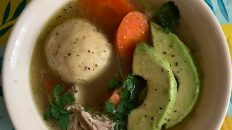 cuban matzo ball soup