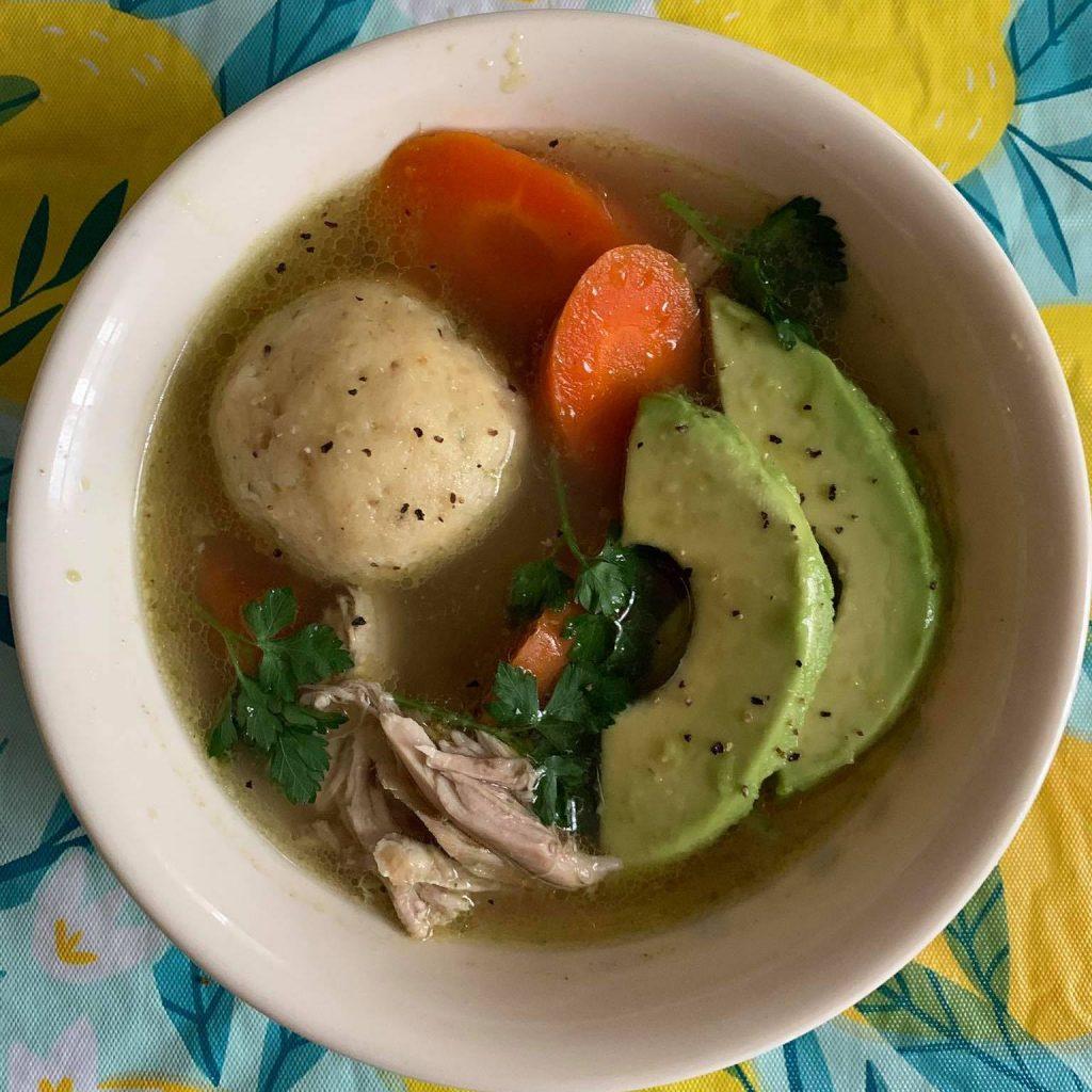 cuban matzo ball soup