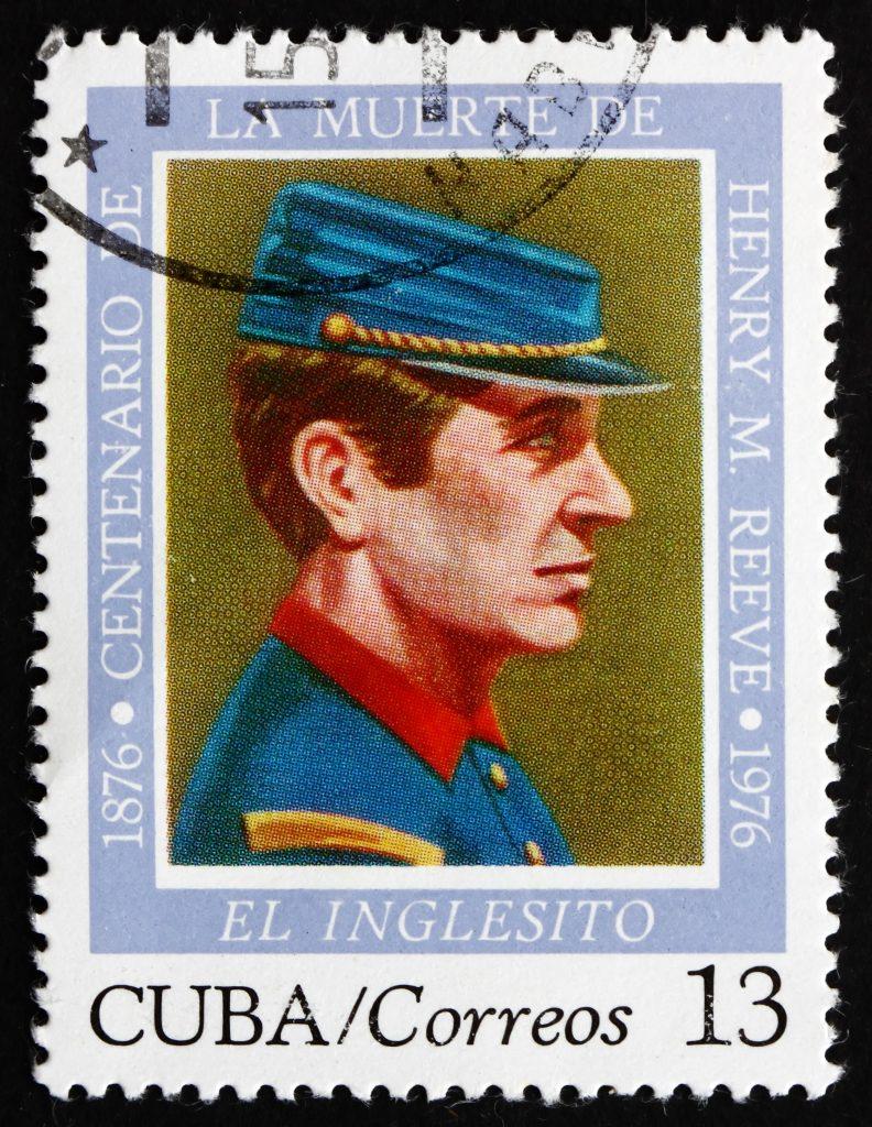henry reeve brigade memorial stamp 1976