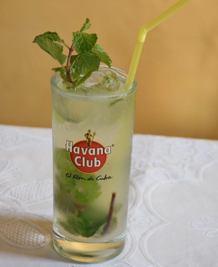havana club mojito similar to the one at Bodeguita del Medio