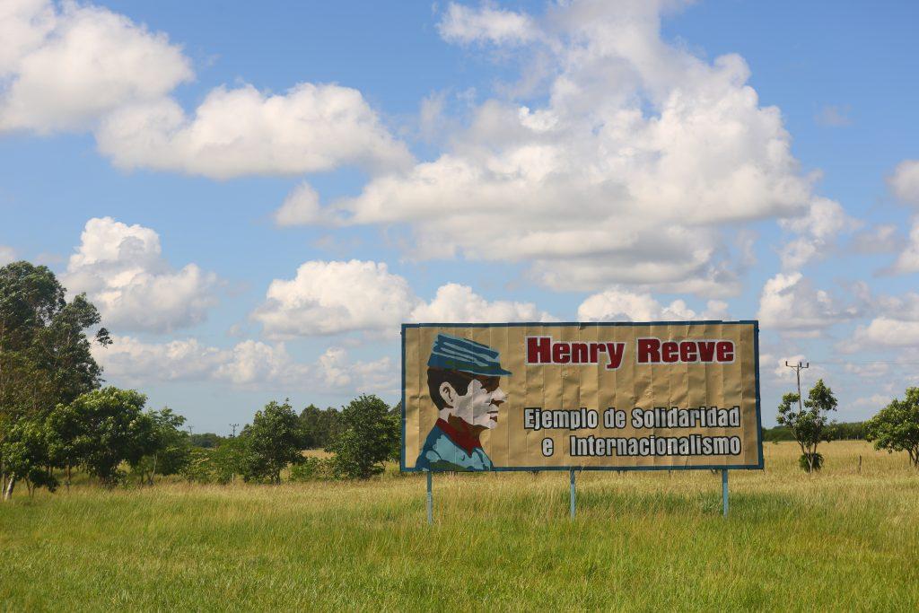 Henry Reeve billboard