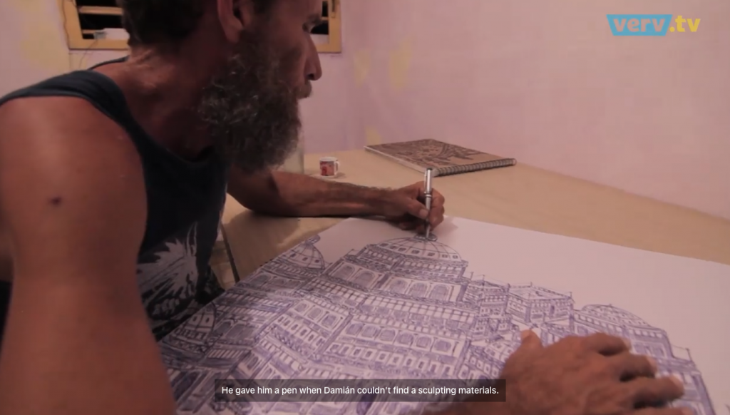 art brut cuba outsider artists Damián Valdés Dilla
