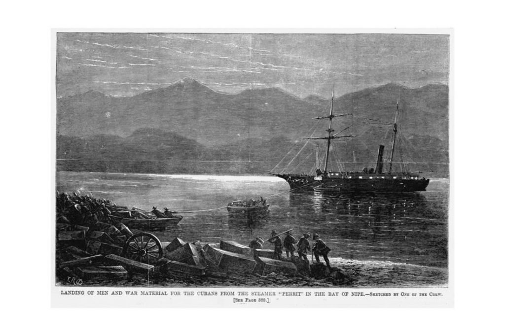 the perrit landing in Cuba with henry reeve, later leading to naming the henry reeve brigade