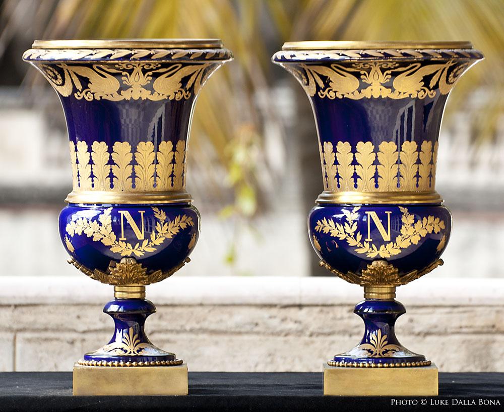 havana napoleon museum vases