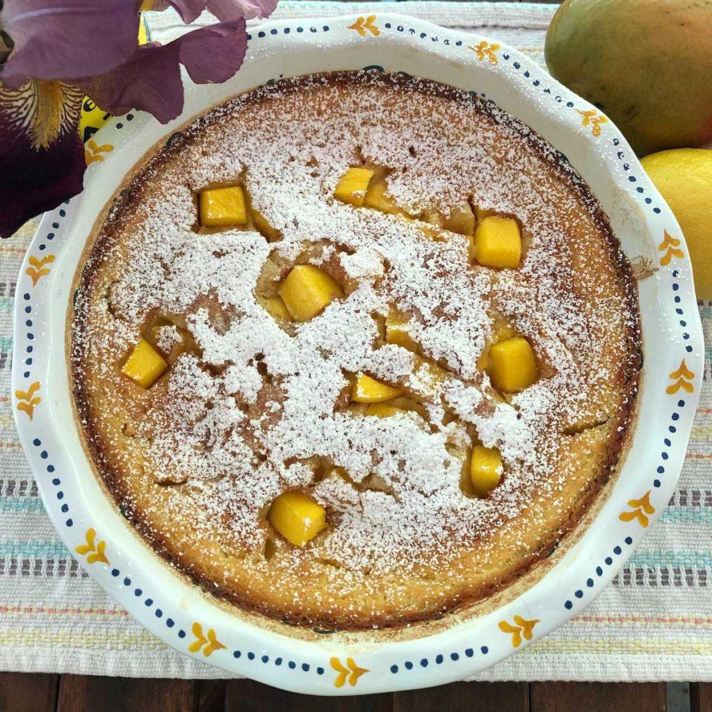 mango clafoutis recipe