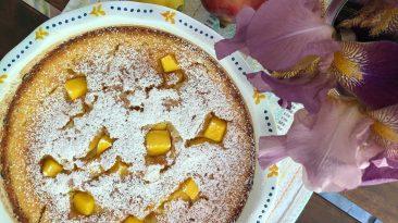 french mango cake