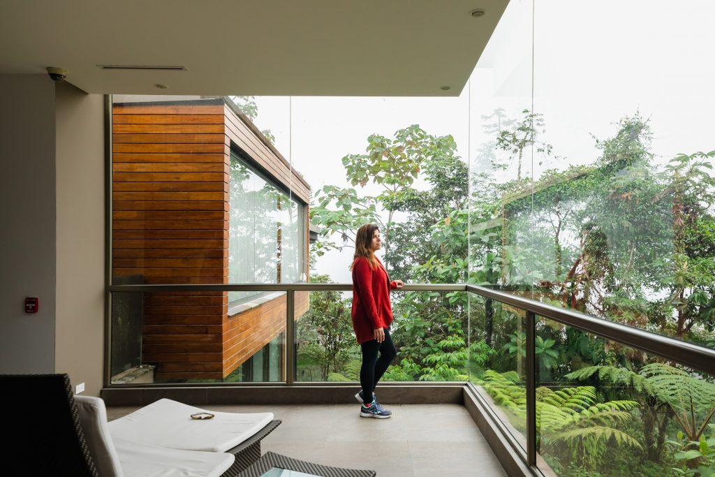 mashpi lodge lobby ecuador cloud forest
