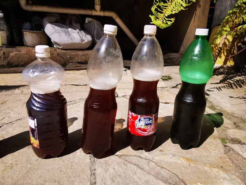 cuban pru drink in bottles