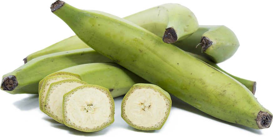 green plantains for our tostones recipe