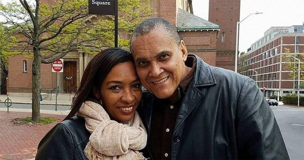 Jorge Olivera Castillo and his wife in Harvard square.