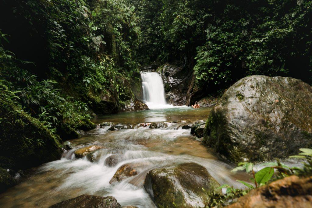 mashpi reserve waterfall