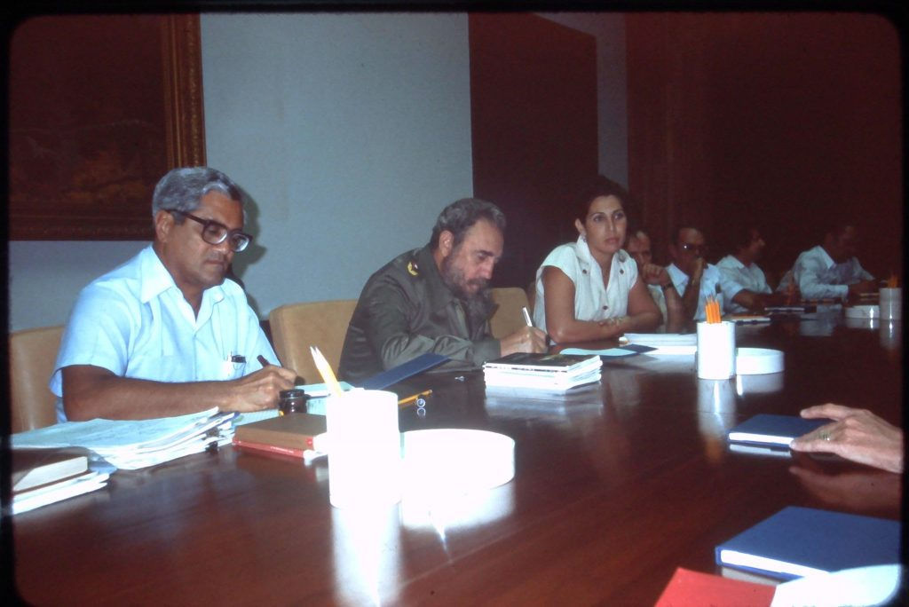 phil villers human rights meeting with fidel castro