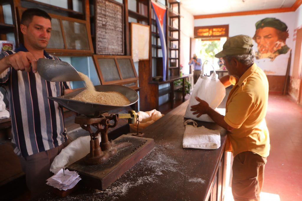 cuba state ration store cienfuego, Cuba