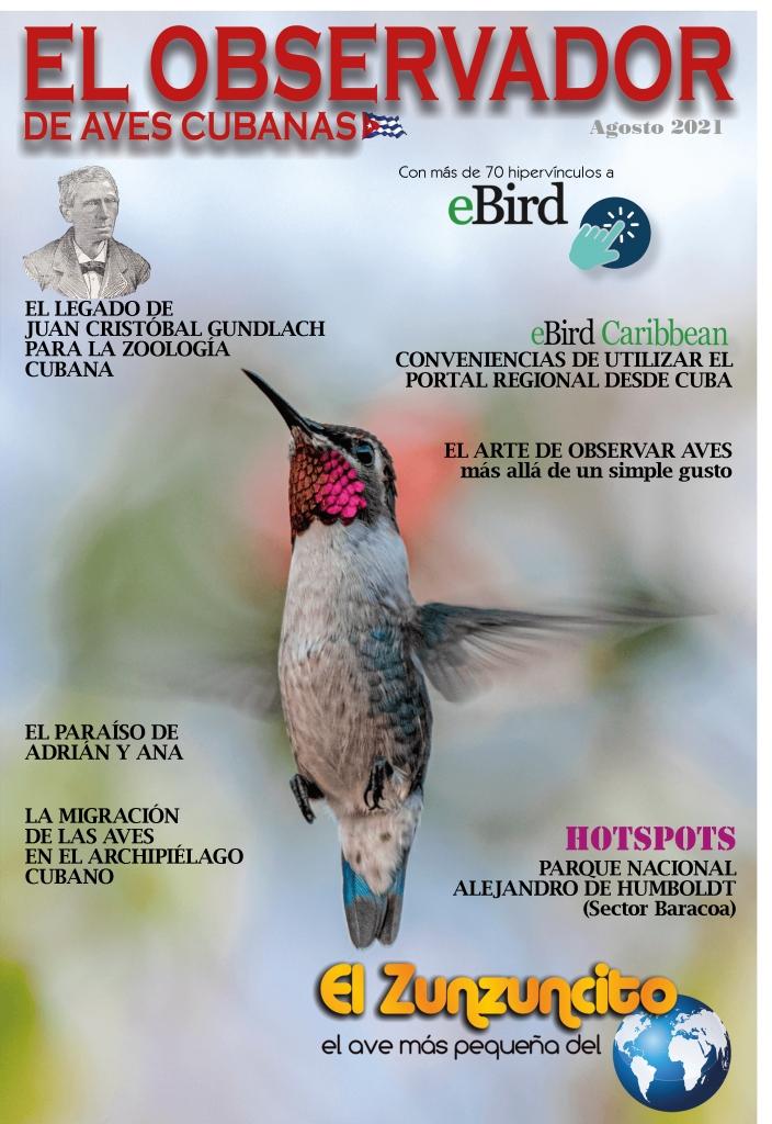 el observador de aves cubanas