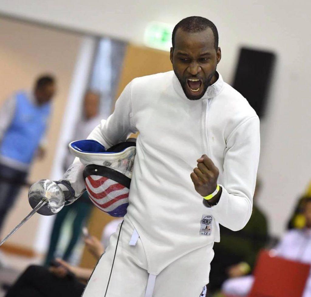 yeisser ramirez olympic fencing