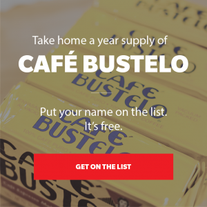 cafe bustelo for a year