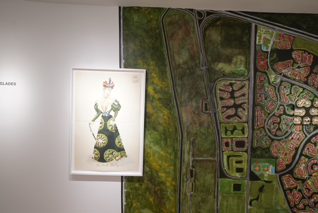 Harold Garcia V cuban art at thomas nickels project in new york