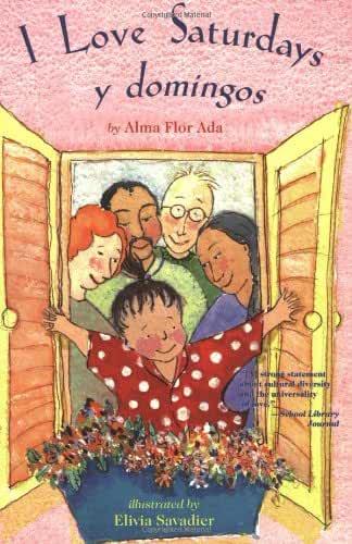 hispanic pride books i love saturdays y domingos